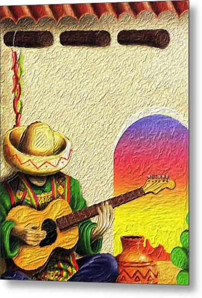 Juan's Song Metal Print by Tyler Robbins