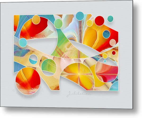 Jubilation Metal Print by Gayle Odsather