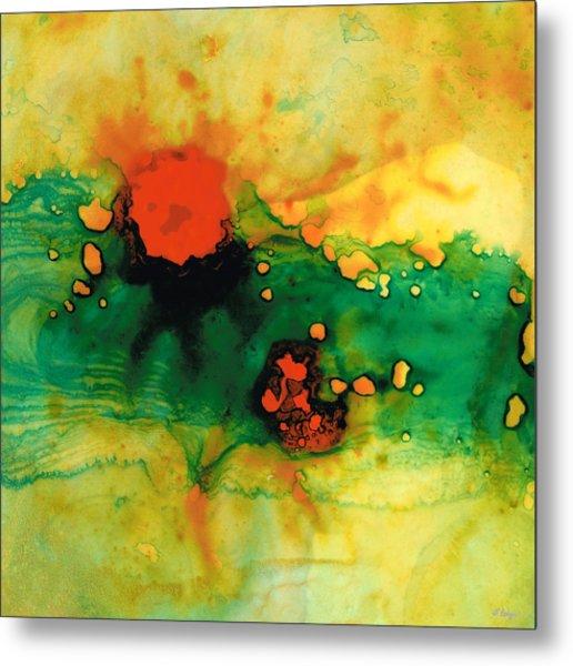 Jubilee - Abstract Art By Sharon Cummings Metal Print