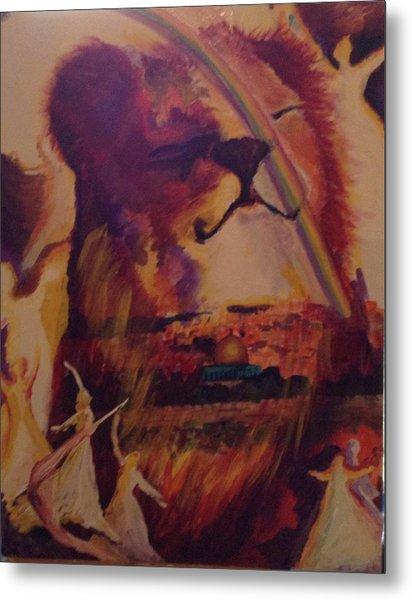 Judah Smiles Metal Print by Tehya May