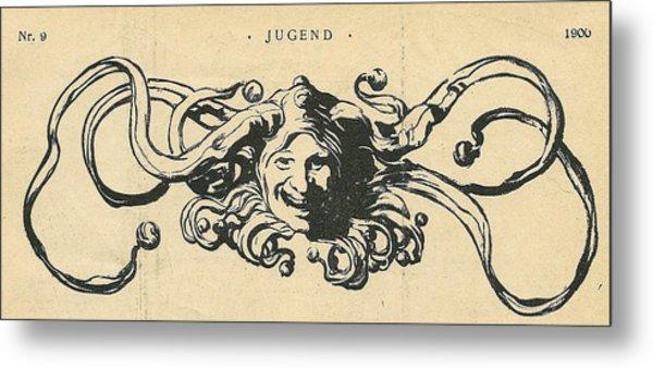 Jugend Jester Metal Print