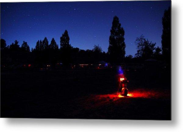 Julian Night Lights 2013 Metal Print