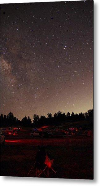 Julian Night Sky Milky Way Metal Print