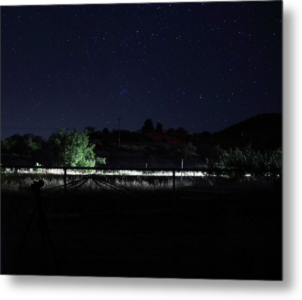 Julian Night Sky Metal Print