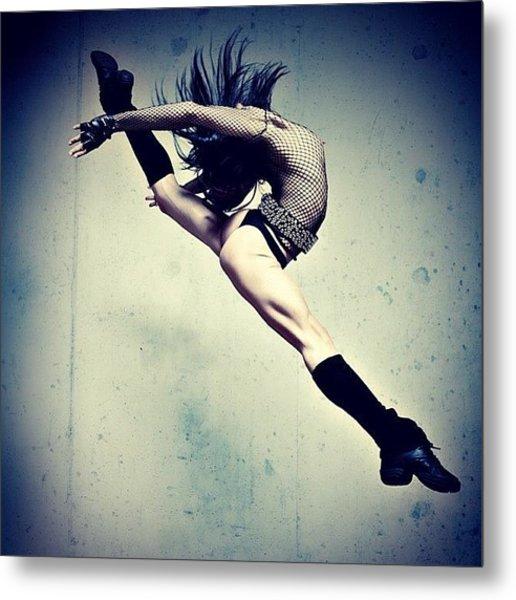Jump For Joy!  Photo By Bryon Paul Metal Print