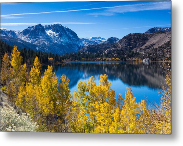 June Lake Metal Print