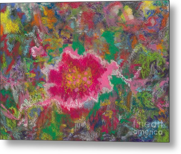 Jungle Flower Metal Print