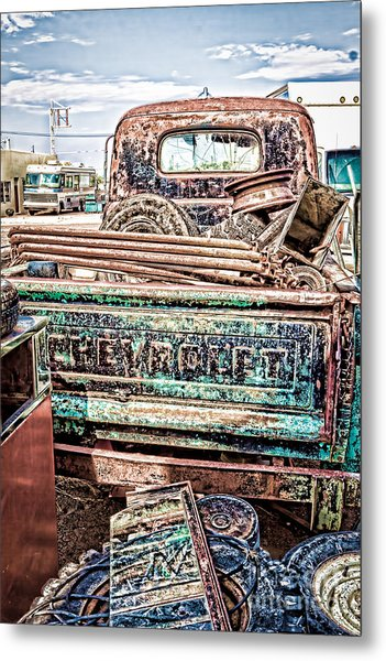 Junk Or Treasure Metal Print