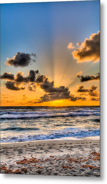 Juno Beach Sunrise Metal Print