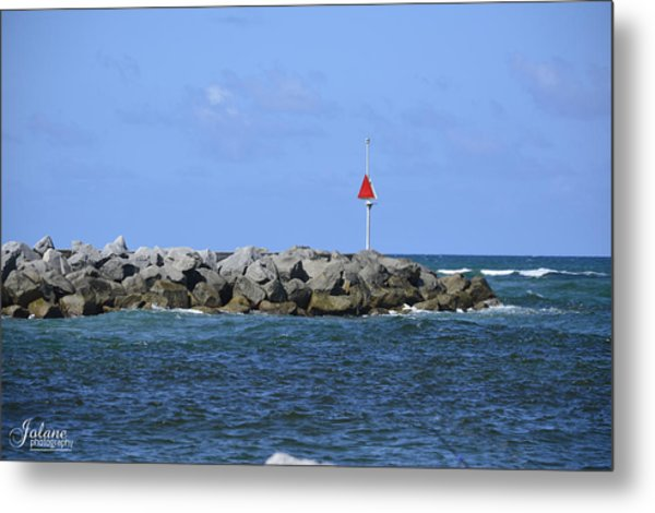 Jupiter Jetty Metal Print