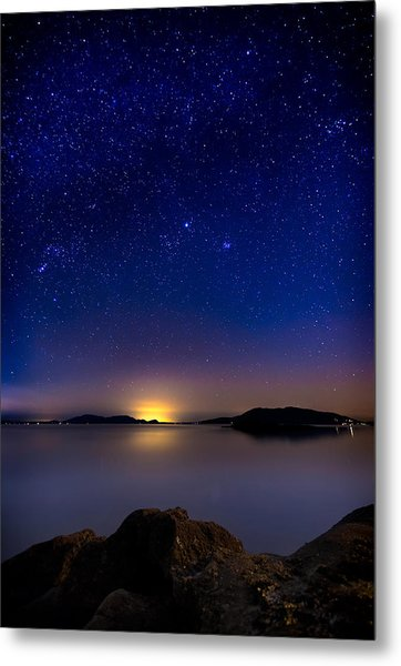 Jupiter Over Wildcat Cove Metal Print