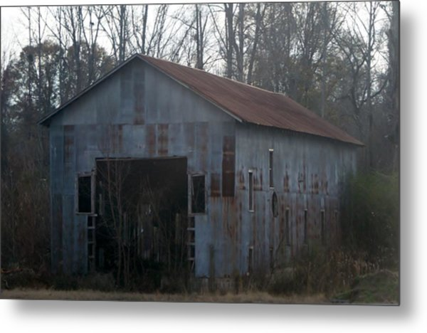 Just An Old Barn Metal Print