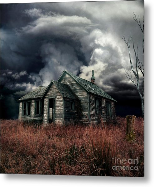 Just Before The Storm Metal Print