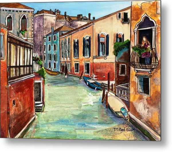 Metal Print featuring the painting Just In The Neighborhood by TM Gand