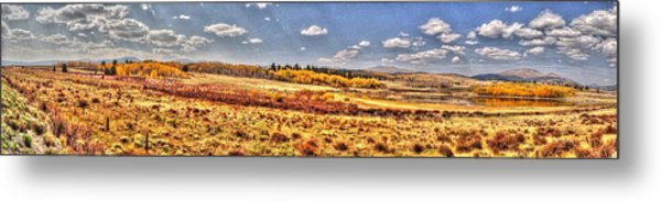 Just North Of Fairplay Colorado Metal Print
