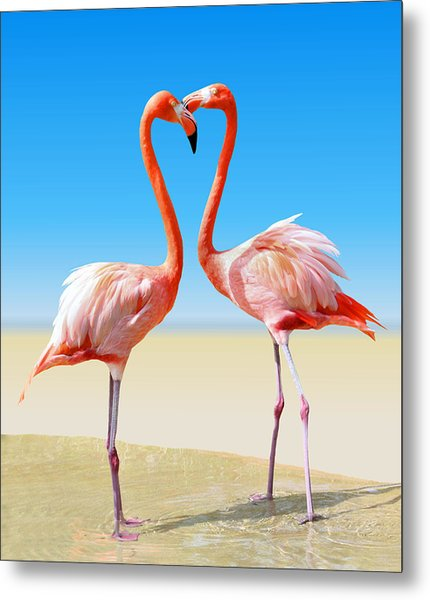 Just We Two Metal Print