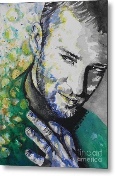 Justin Timberlake...01 Metal Print