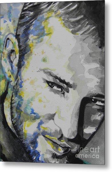 Justin Timberlake...02 Metal Print