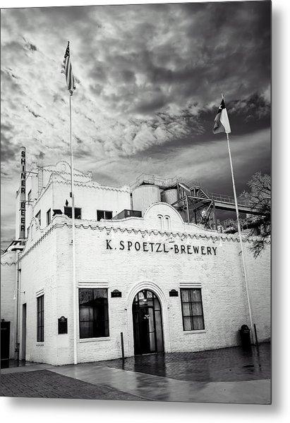 K. Spoetzl Brewery Metal Print