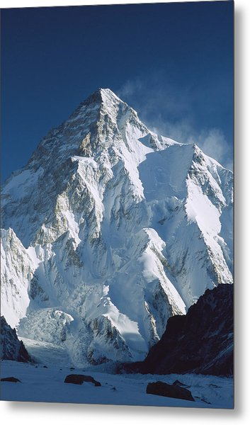 K2 At Dawn Pakistan Metal Print