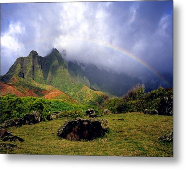 Kalalau Valley Kauai Metal Print by Kevin Smith