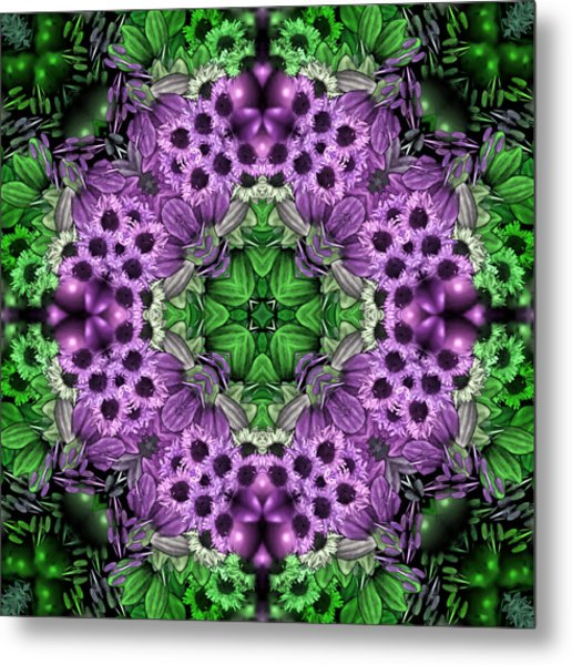Kaleidoscopic 2 Metal Print by Gabour Demans