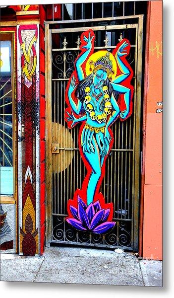 Kali In Color Metal Print