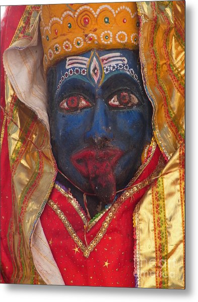 Kali Maa - Glance Of Compassion Metal Print