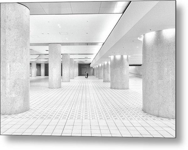 Kanazawa Underground Metal Print
