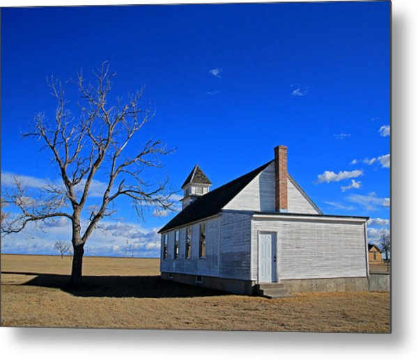 Escue Church Metal Print