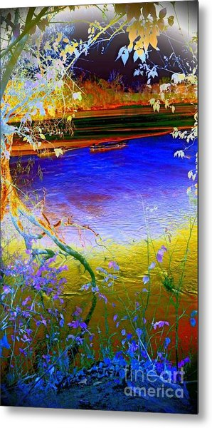 Kansas River 2 Metal Print
