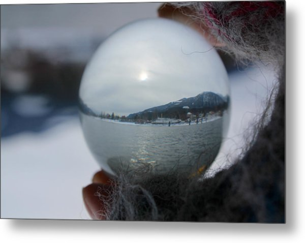 Kaslo Winter Metal Print