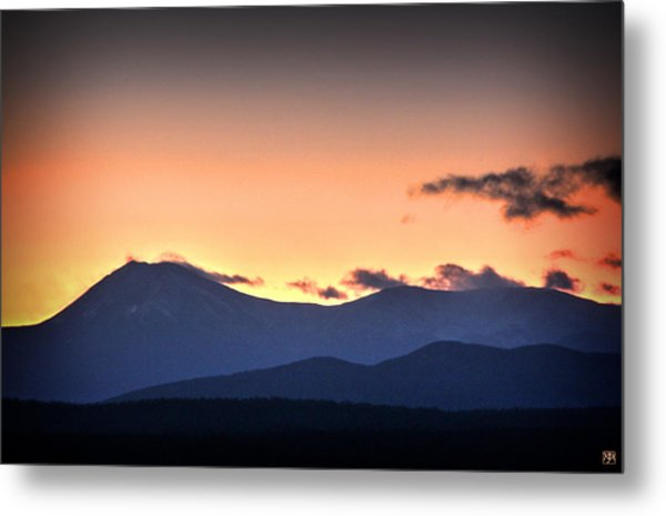 Katahdin Sunset Metal Print