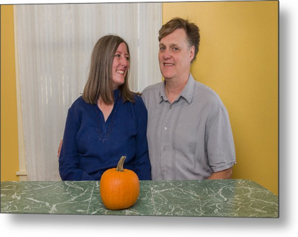 Kathy And Allan Metal Print