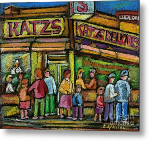 Katz's Deli Metal Print