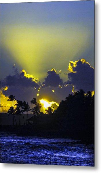 Kauai Sunset Metal Print