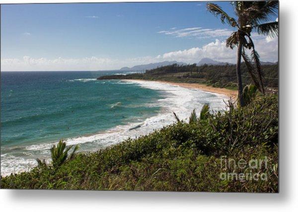 Kauai Surf Metal Print