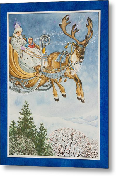 Kay And The Snow Queen Metal Print