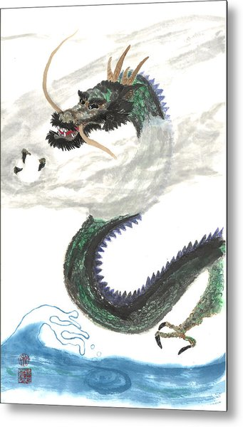 Kazuhiko Ryu Metal Print