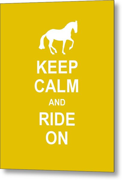 Keep Calm At Grand Prix Metal Print by JAMART Photography