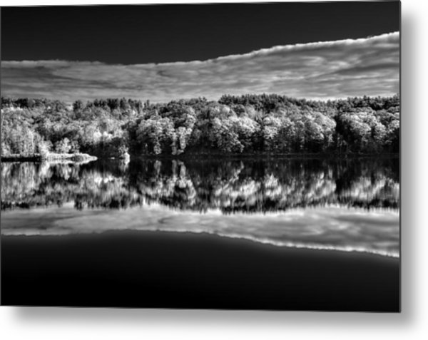 Kennebec Reflections Metal Print