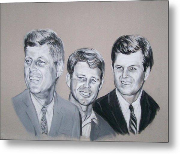 Kennedy Brothers Metal Print