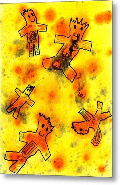 Kennybot Number 1 Metal Print by Kenny Henson