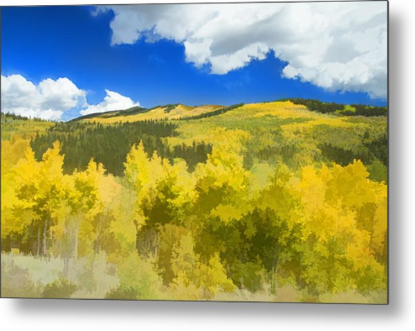 Kenosha Pass Colors Metal Print
