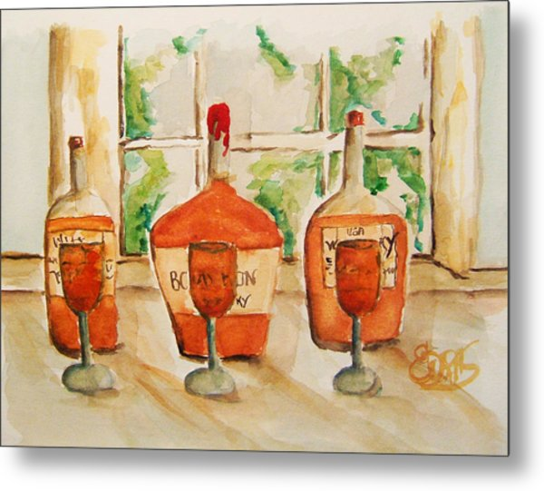 Kentucky Bourbon Sampler Metal Print