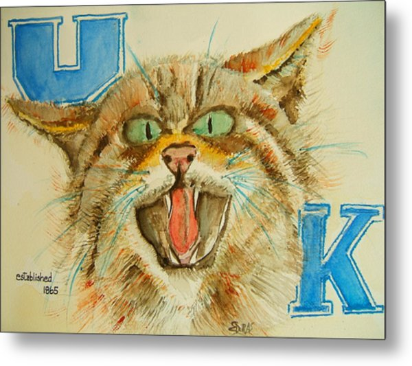 Kentucky Wildcats Metal Print