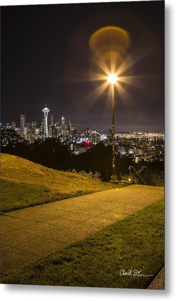 Kerry Park Seattle Metal Print