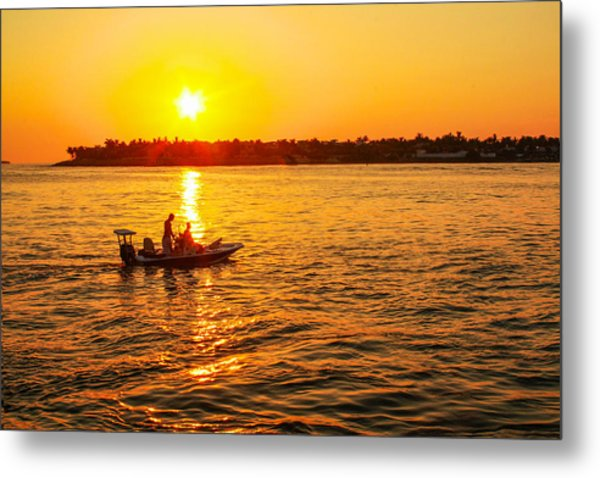 Key West Gold Metal Print