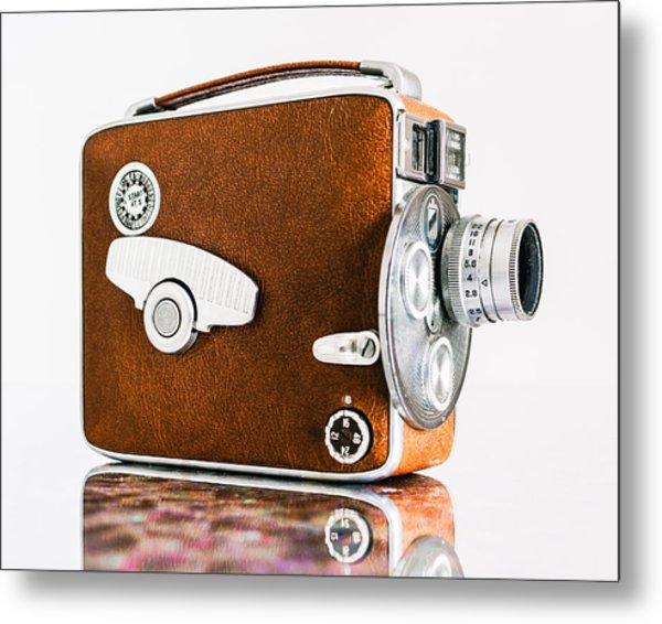 Keystone 8mm Camera Metal Print