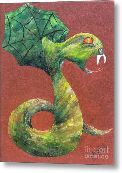 Khiel...the Snake Metal Print by JoNeL Art